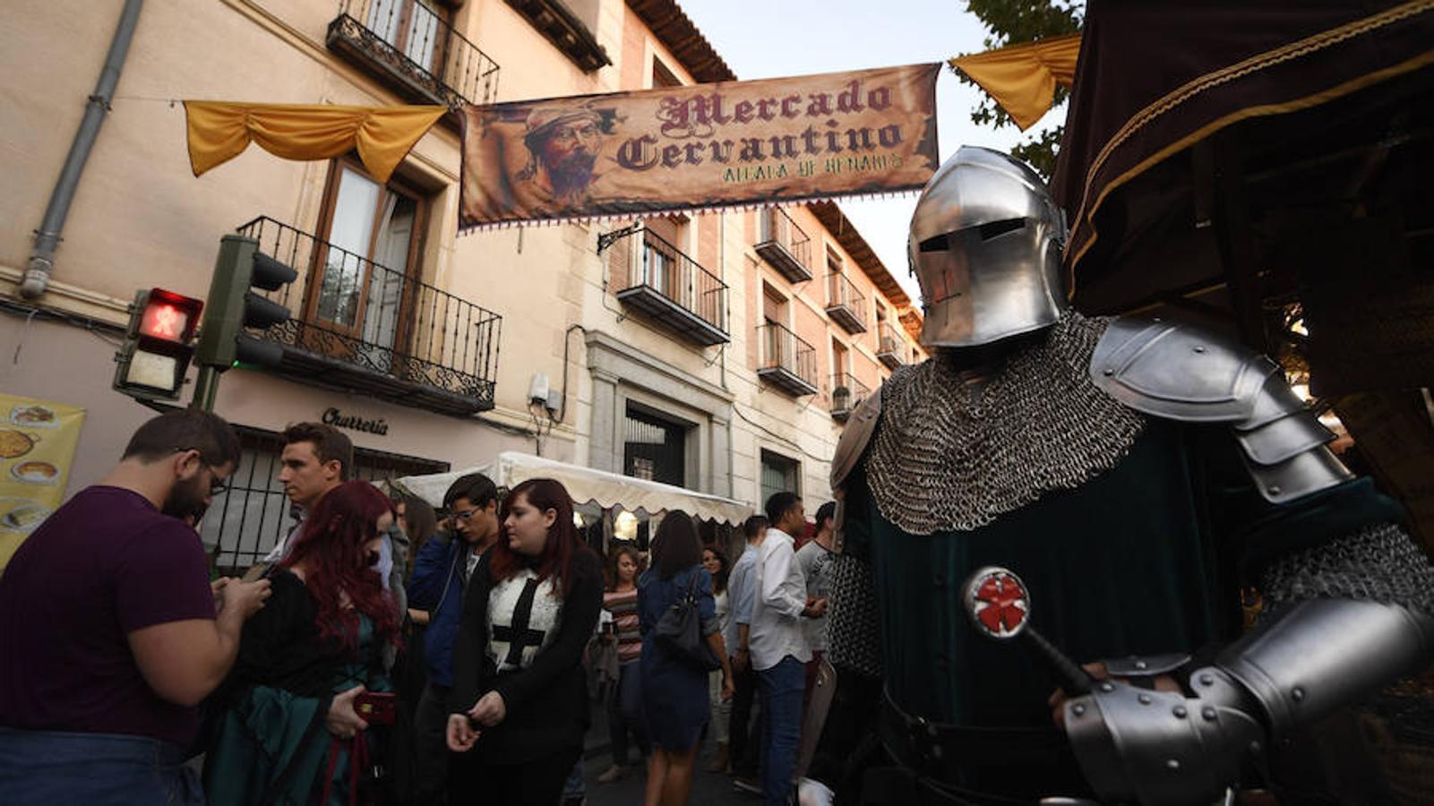 Las mejores imágenes del Mercado Cervantino de Alcalá
