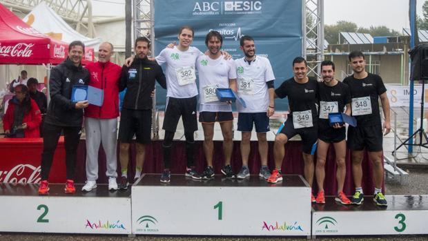 La I Carrera de Empresas ESIC-ABC de Sevilla, en imágenes