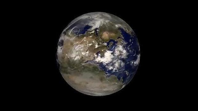 Pangea vista desde el espacio  ABCes
