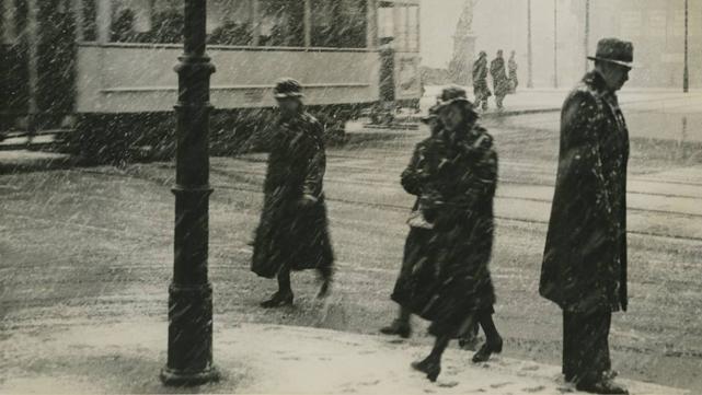 Nieve en Berlín en 1935