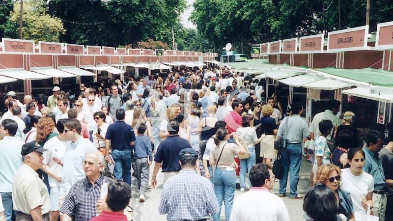 Madrid. 12/06/1999. Vista general de la Feria
