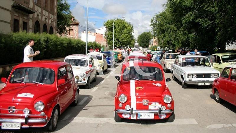 Villanueva de la Sagra (Toledo). 01/06/2008. El Club 600 de Toledo celebr� la III Concentracion de Clasicos Populares en la semana cultural de la localidad