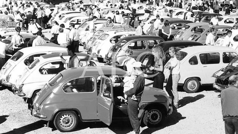 Legan�s (Madrid) 12/10/1997. Legan�s acogi� la IV Concentraci�n Nacional de Amigos del Seat 600