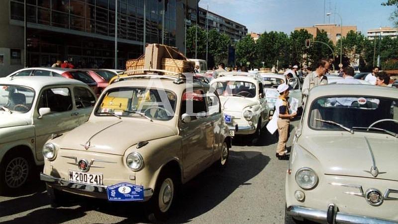 Legan�s (Madrid). 14/05/2000. 100 coches participaron en el Rally Legan�s-Torrijos