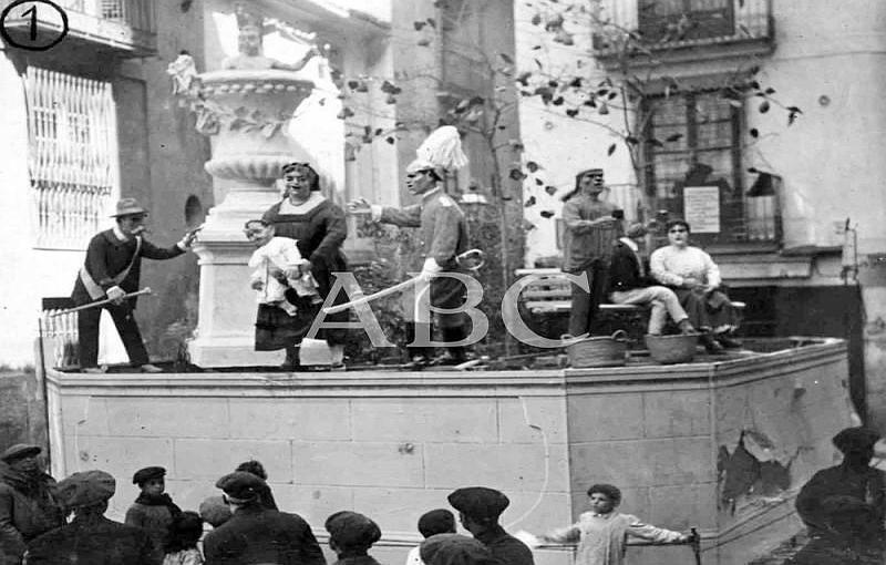Valencia, 19/03/1918. Premio de honor, «Falla» del Círculo de Bellas Artes