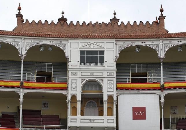 Madrid, 03/05/2012. Palco de la plaza de toros de Las Ventas