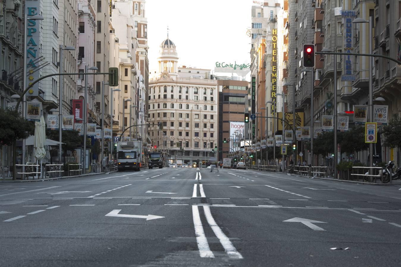 15 de agosto: Madrid, ciudad fantasma