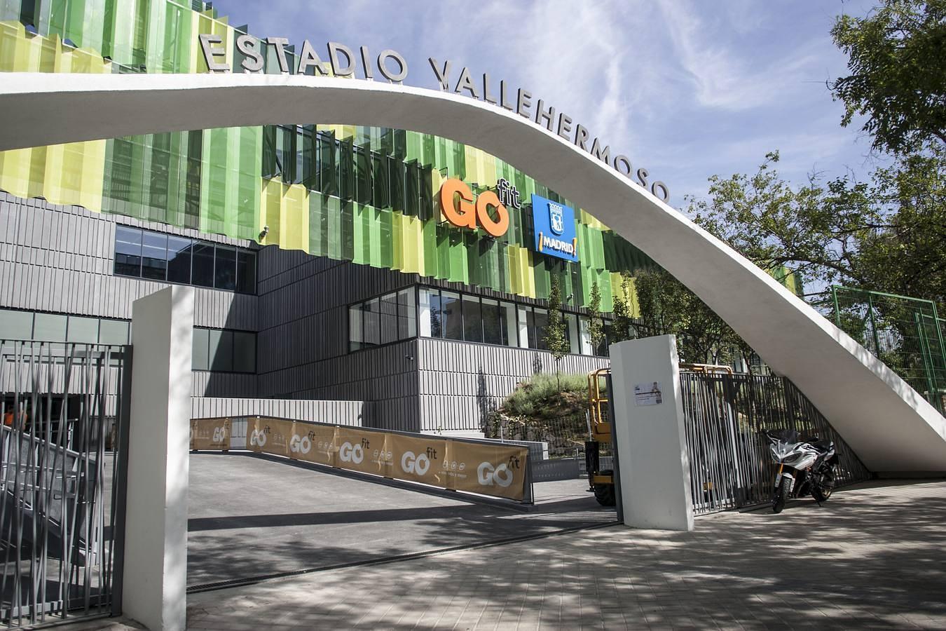 Así es por dentro el Estadio de Vallehermoso, el gimnasio más grande de Europa
