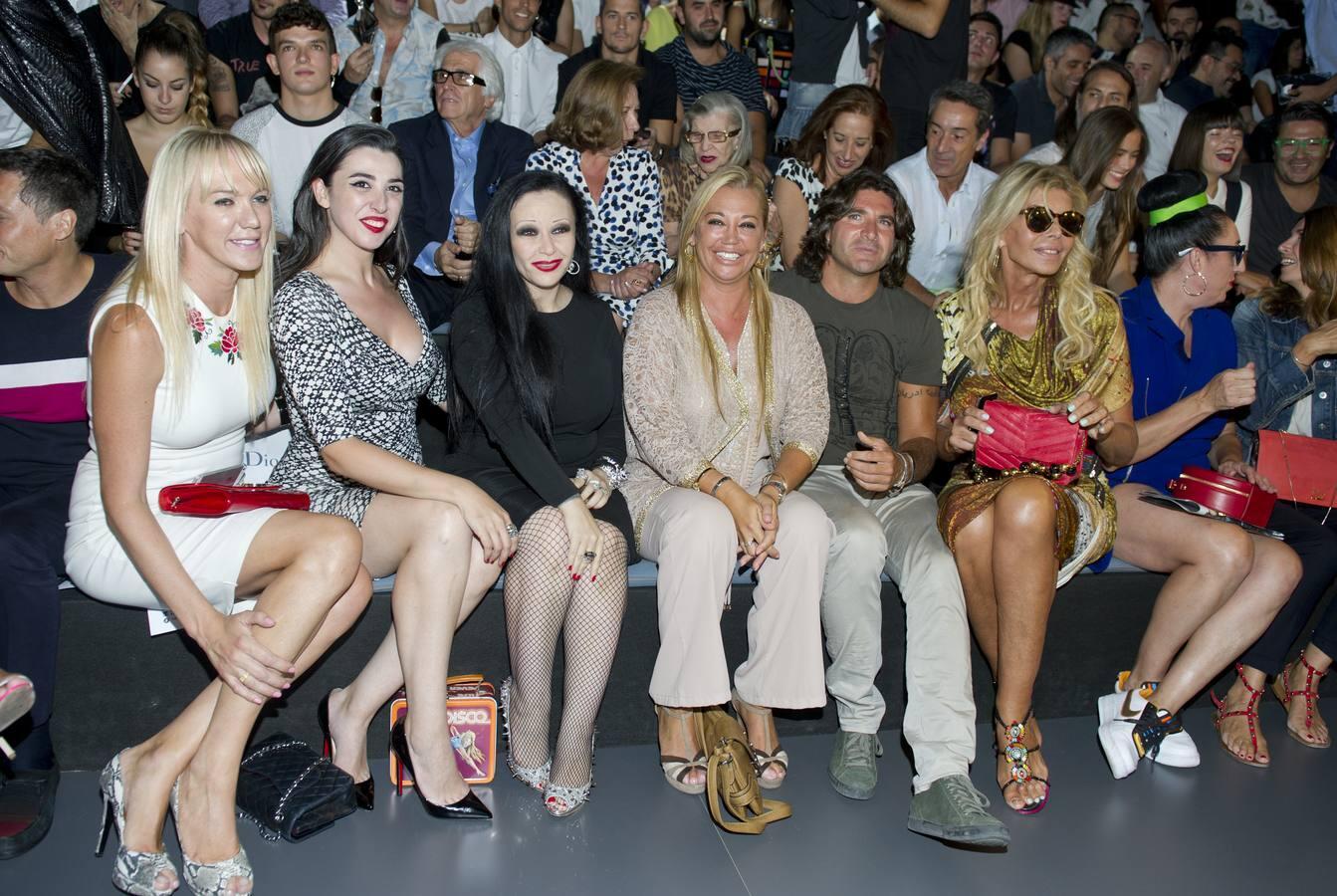 Las celibrities nacionales acuden a la Madrid Fashion Week