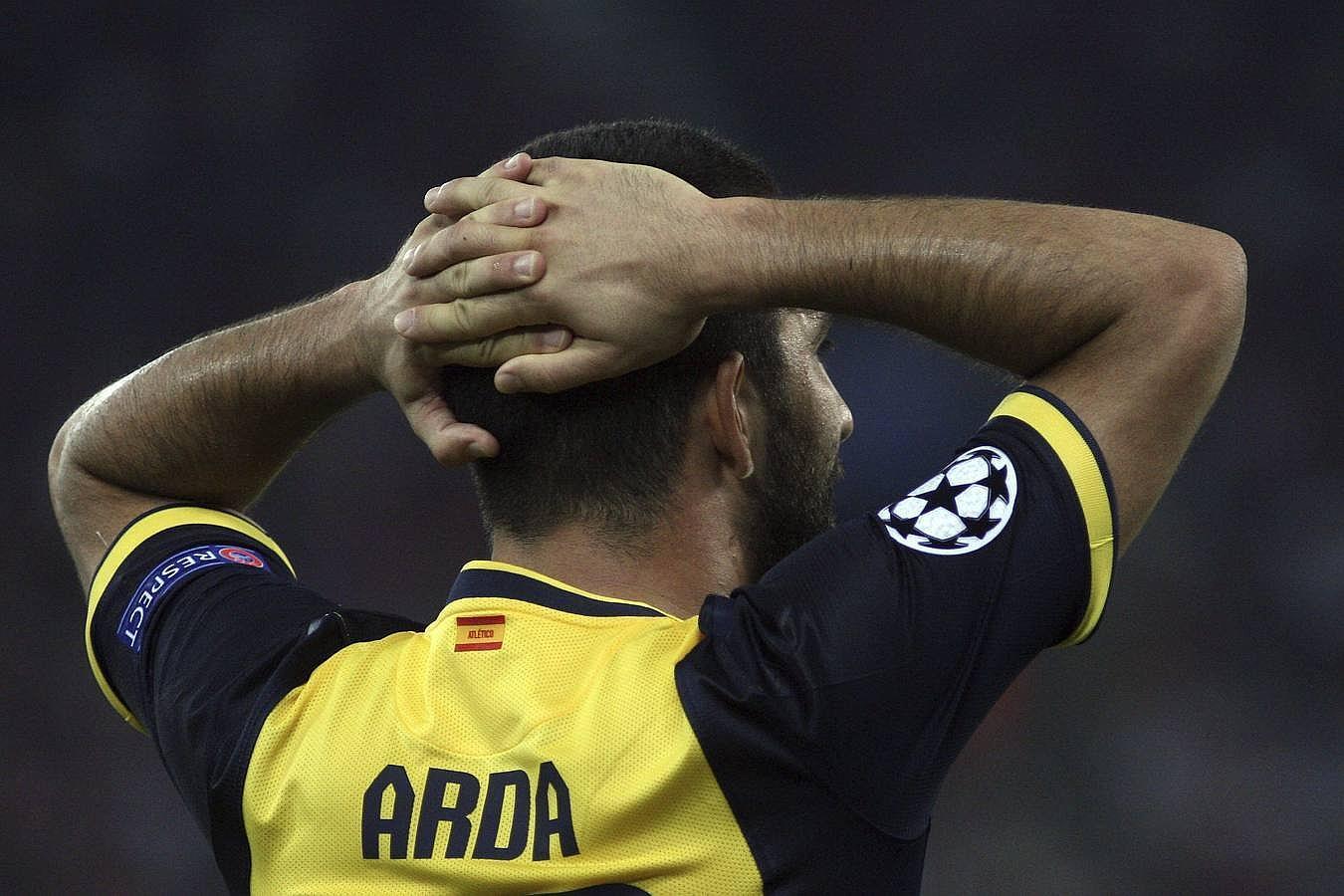 Las mejores imágenes de la derrota del Atlético ante el Olympiacos
