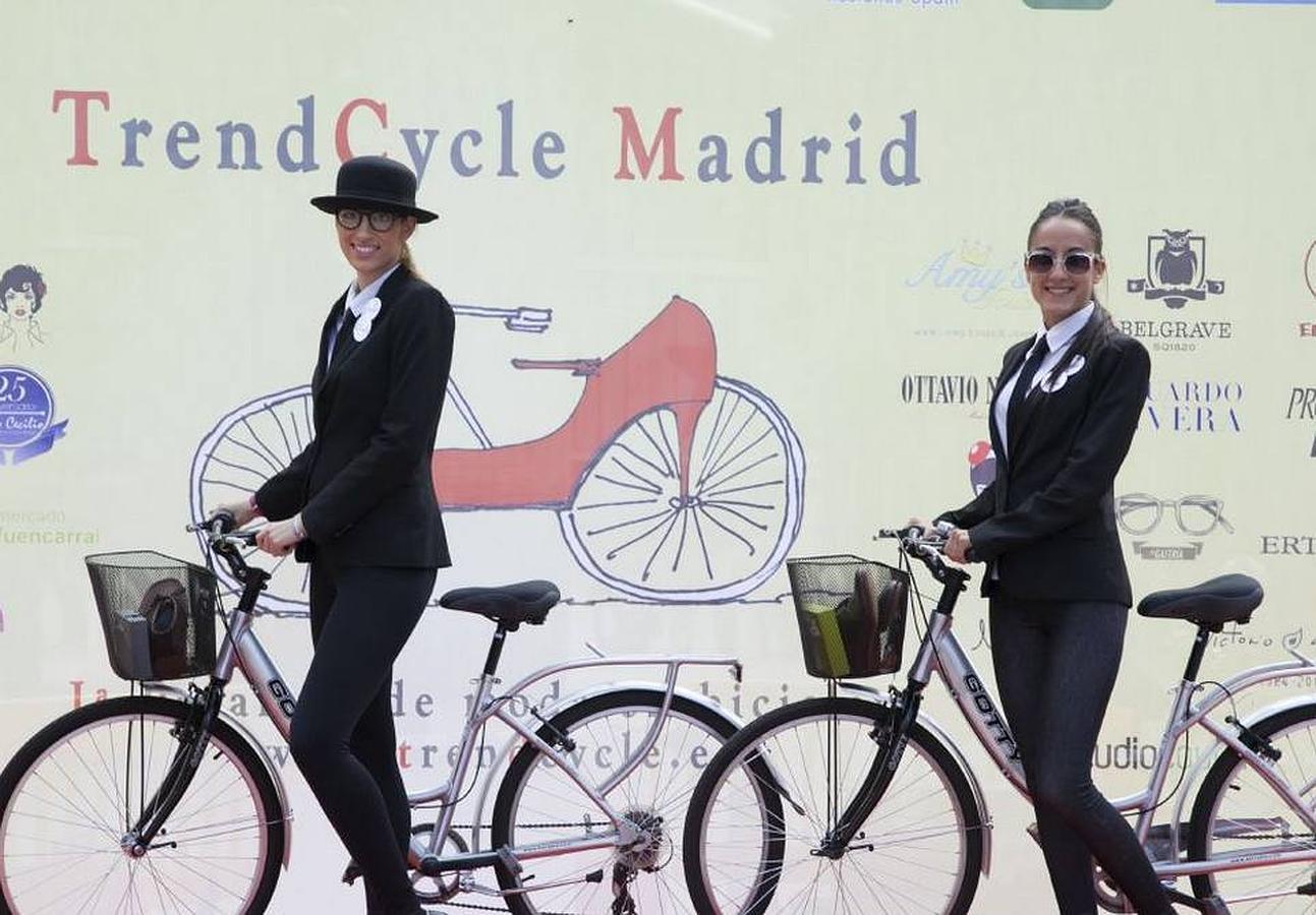 TrendCycle, una pasarela de moda en bicicleta