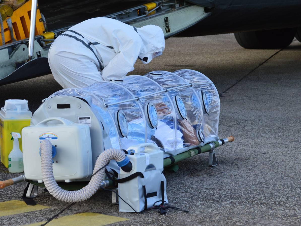 Así ha sido la repatriación de Manuel García Viejo, el segundo español infectado de ébola