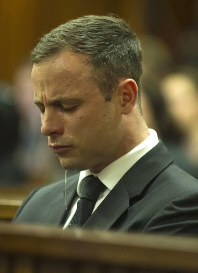 Oscar Pistorius: la caída de un héroe, en imágenes