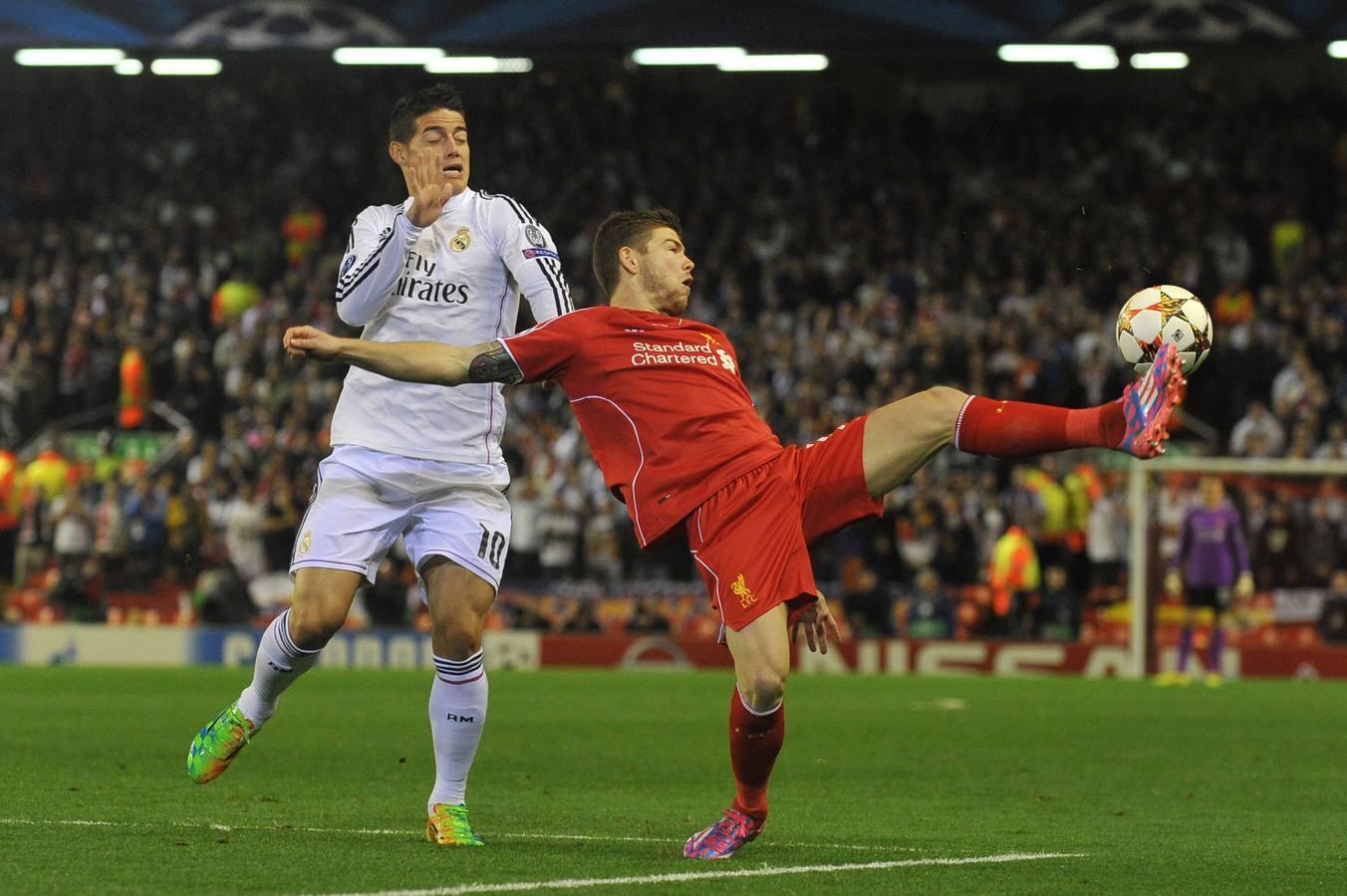 Las mejores imágenes del Liverpool-Madrid
