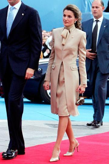 Así vestía Doña Letizia en los premios Príncipe de Asturias cuando era Princesa