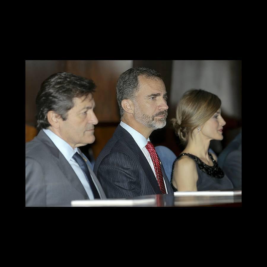 En imágenes: Los Reyes asisten al concierto anual organizado la Fundación Príncipe de Asturias