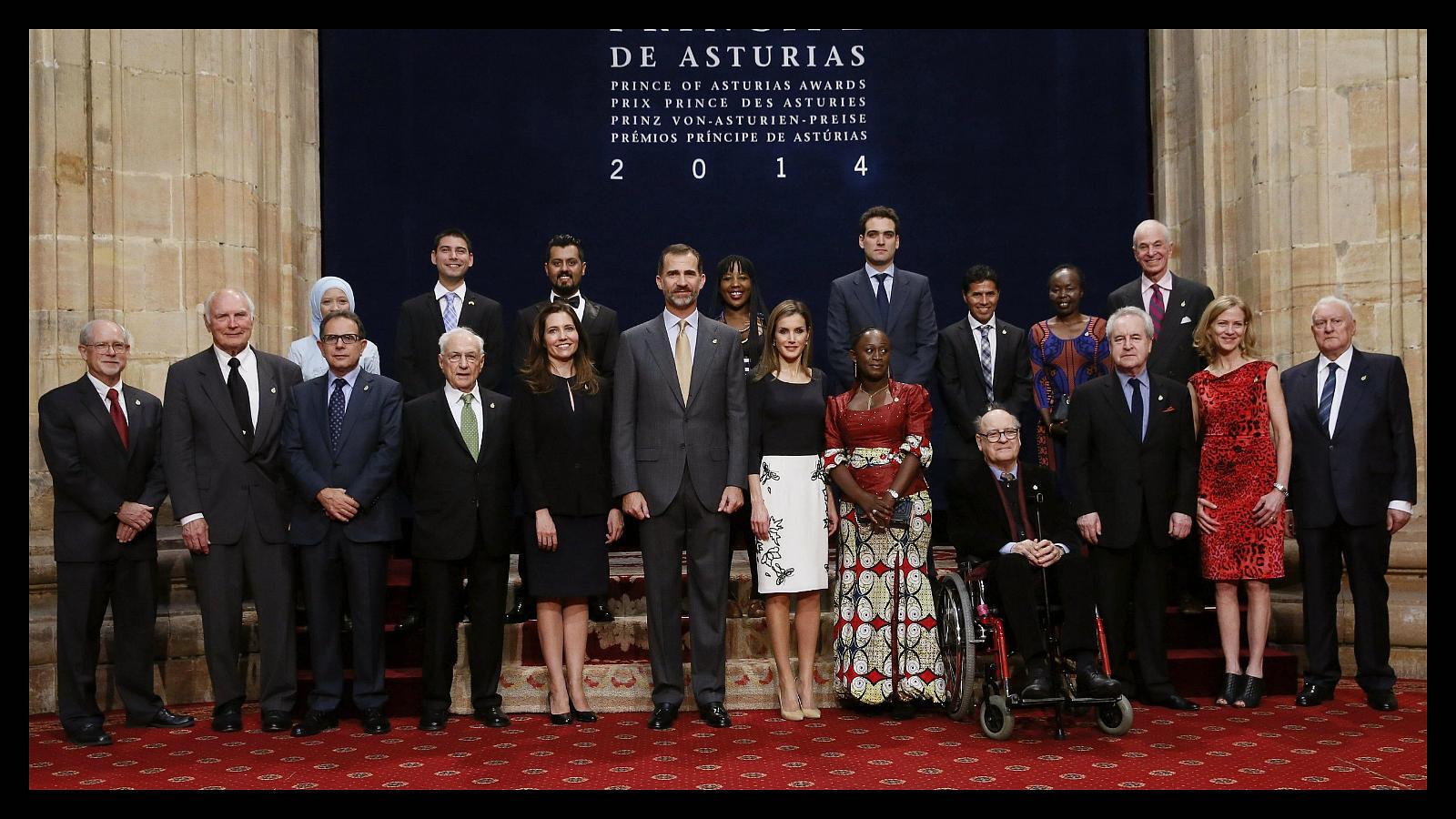 Premios Príncipe de Asturias: la emoción del teatro Campoamor
