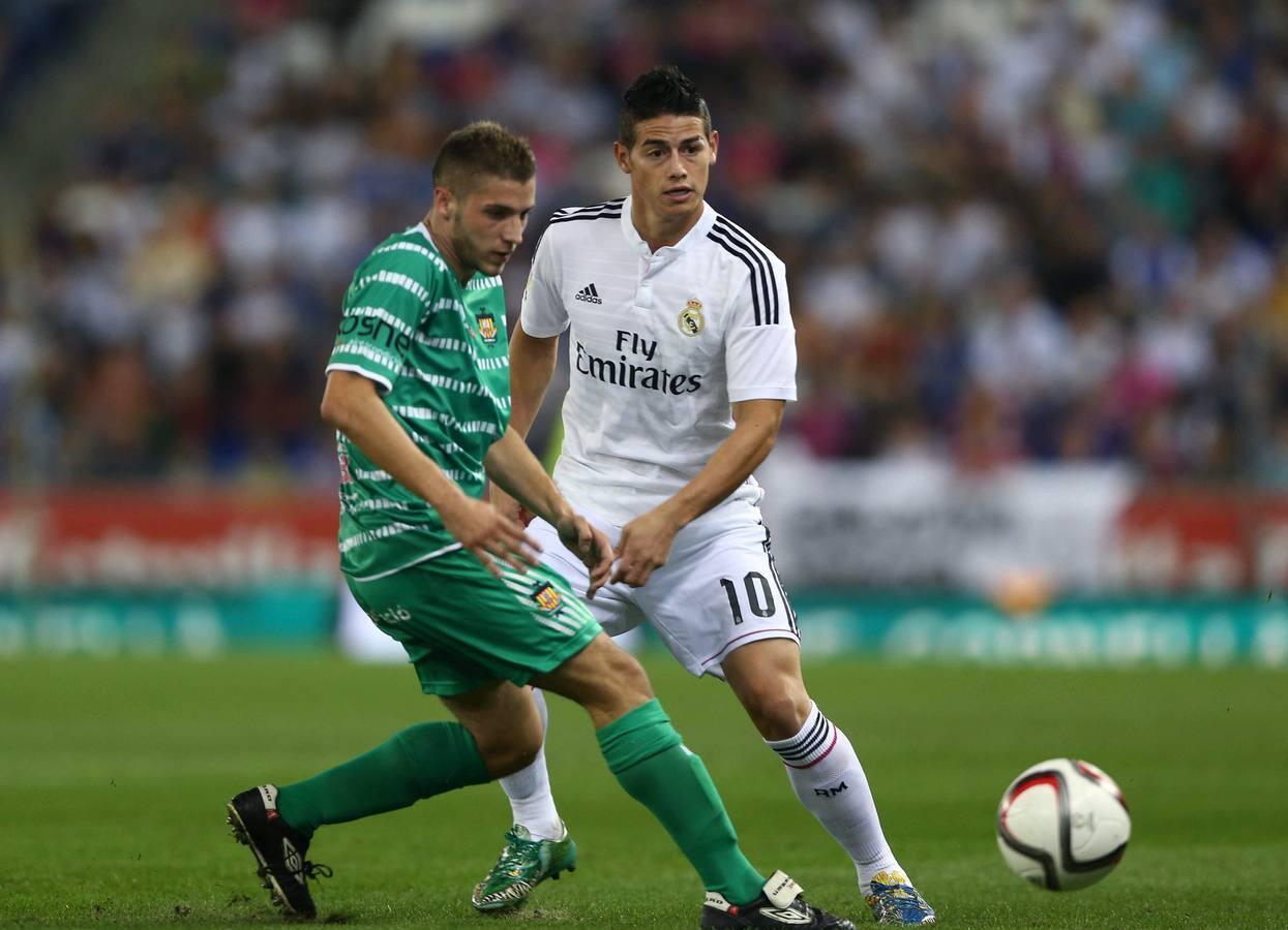 Las mejores imágenes del Cornellá-Real Madrid