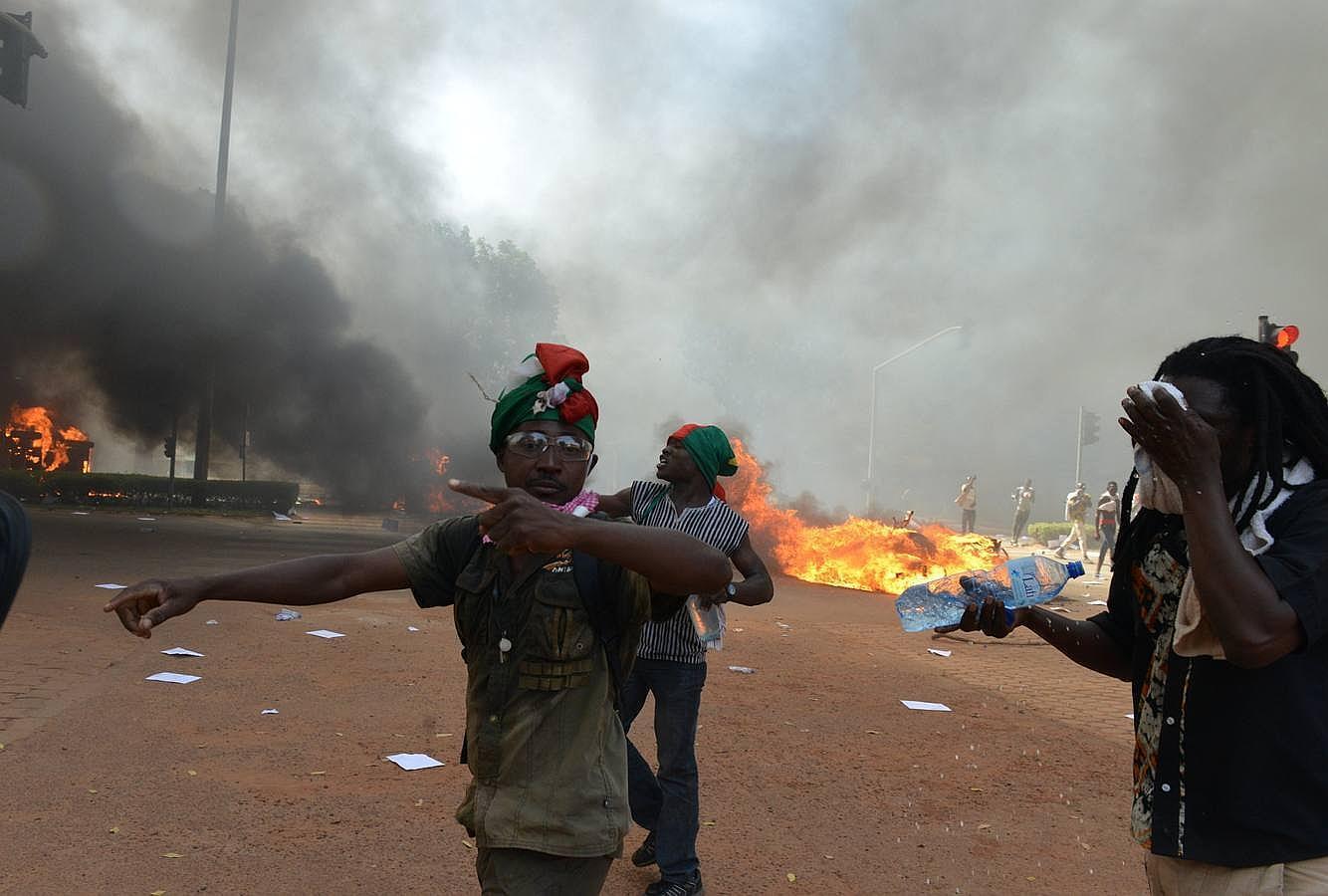 Revolución en Burkina Faso