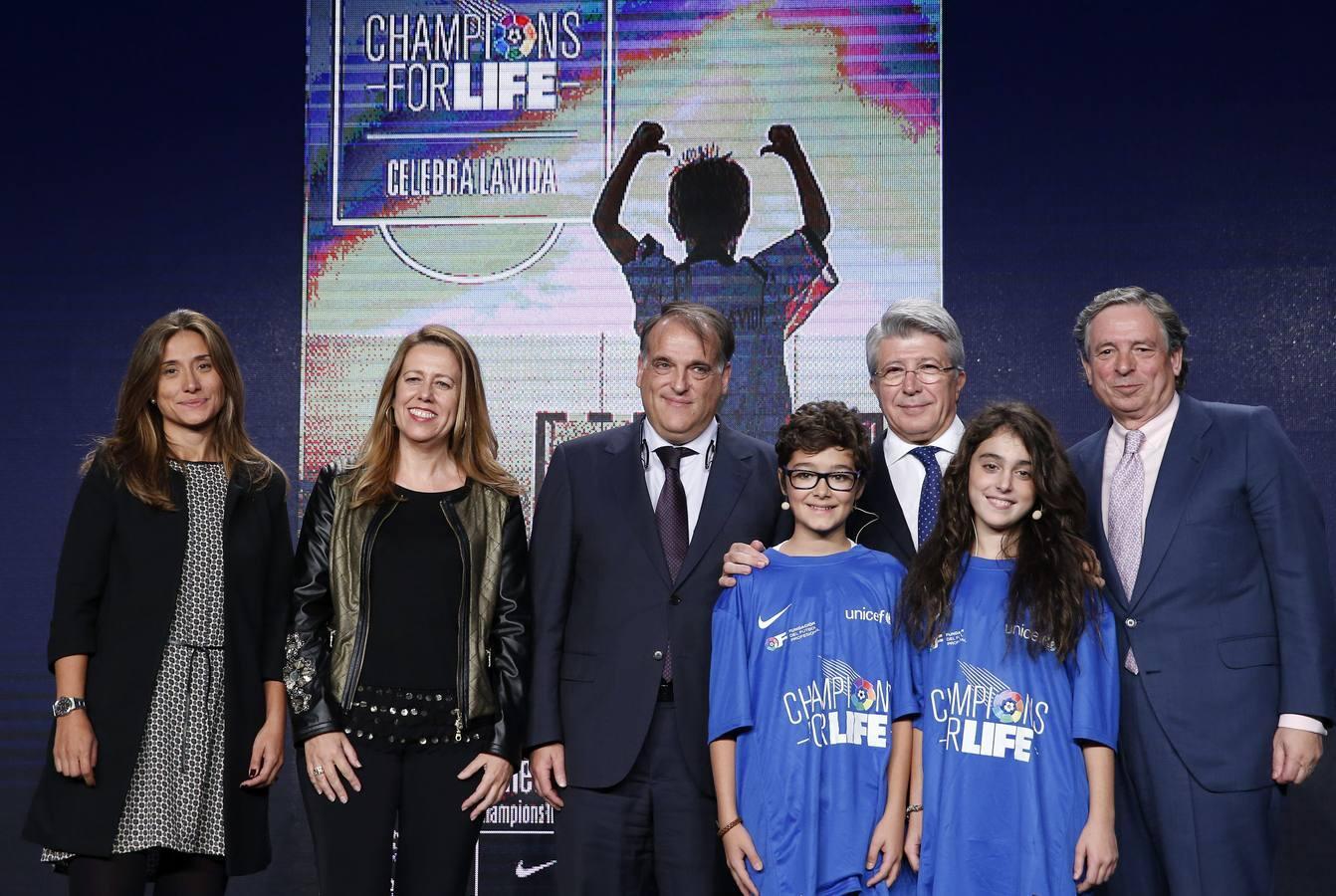 Atlético: presentado el Champions for Life