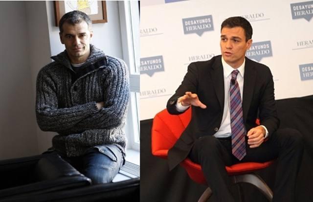 Parecidos razonables: Pedro Sánchez y Toni Cantó