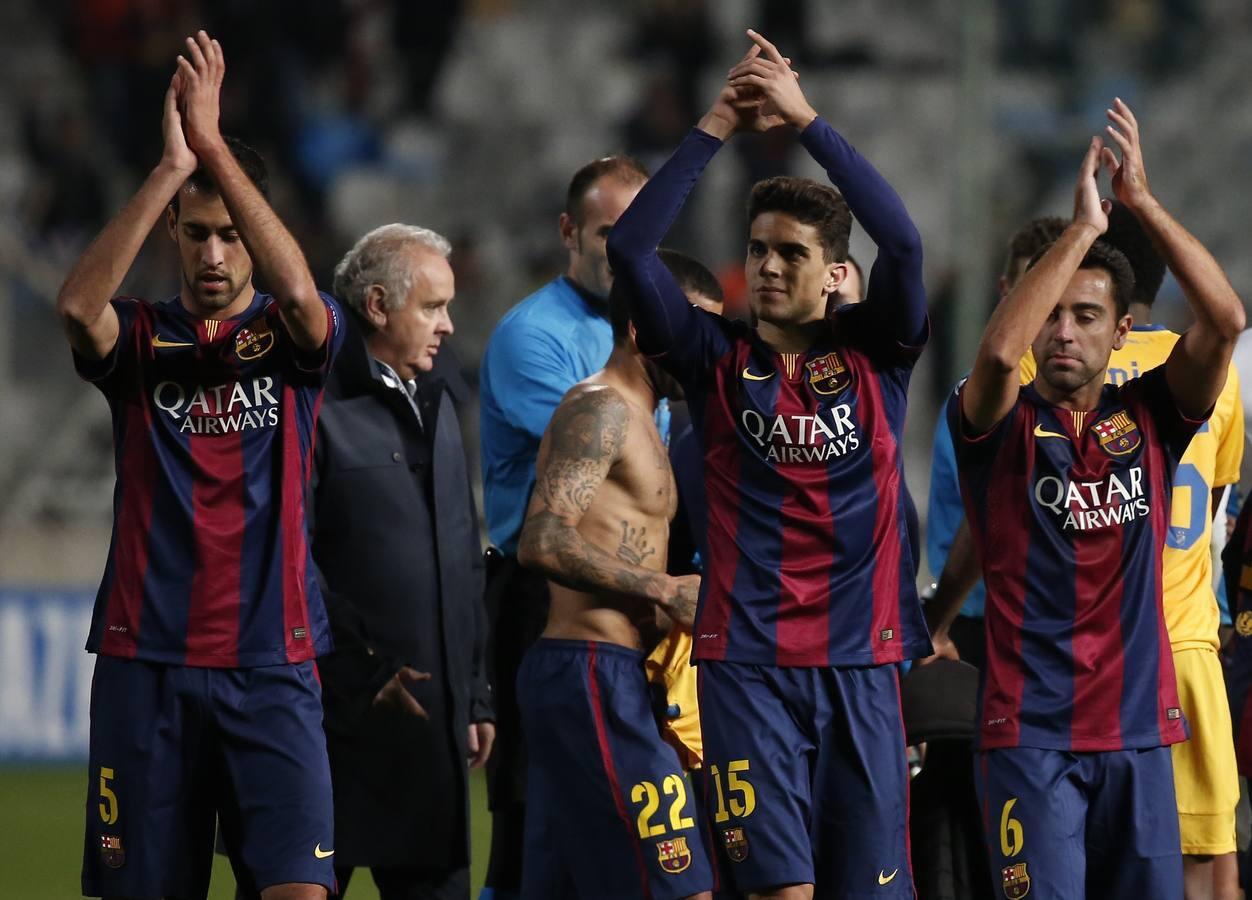 Champions: Apoel-Barcelona