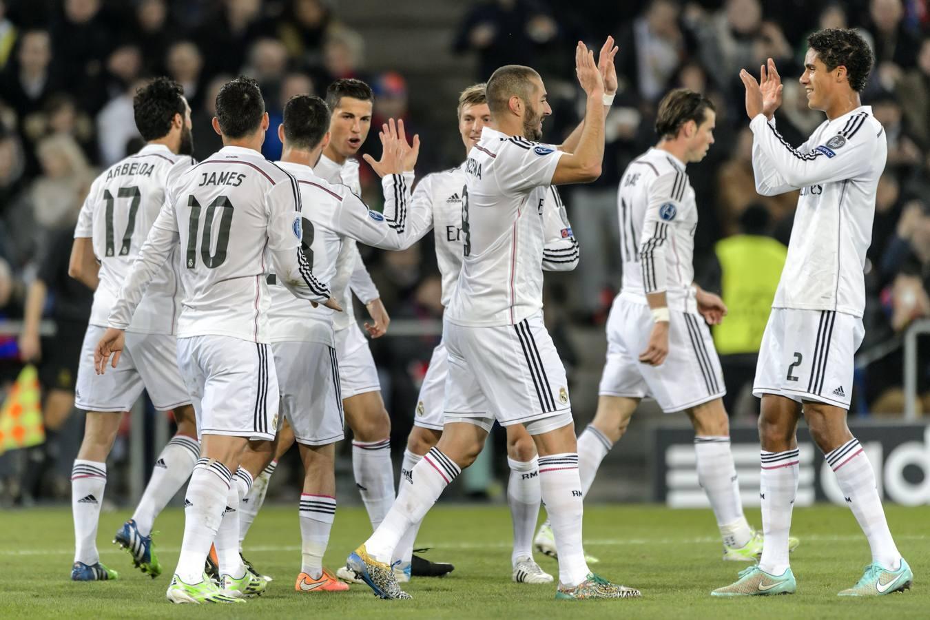 Las mejores imágenes del Basilea-Real Madrid