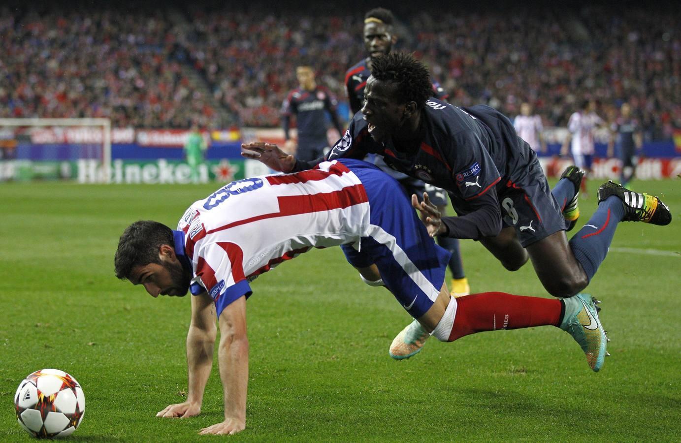 Las mejores imágenes del Atlético-Olympiacos