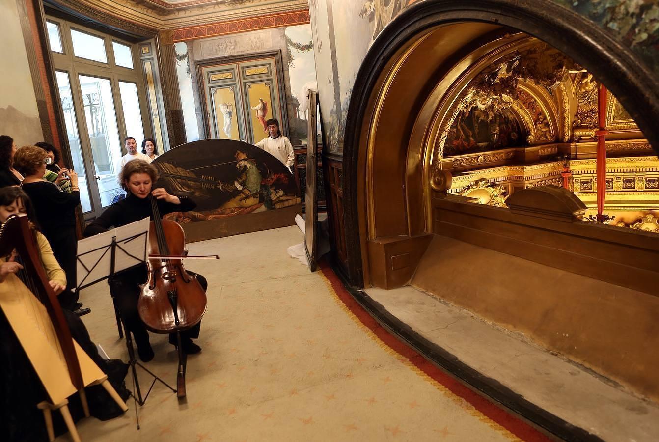 El Palacio de Linares más íntimo abre sus puertas