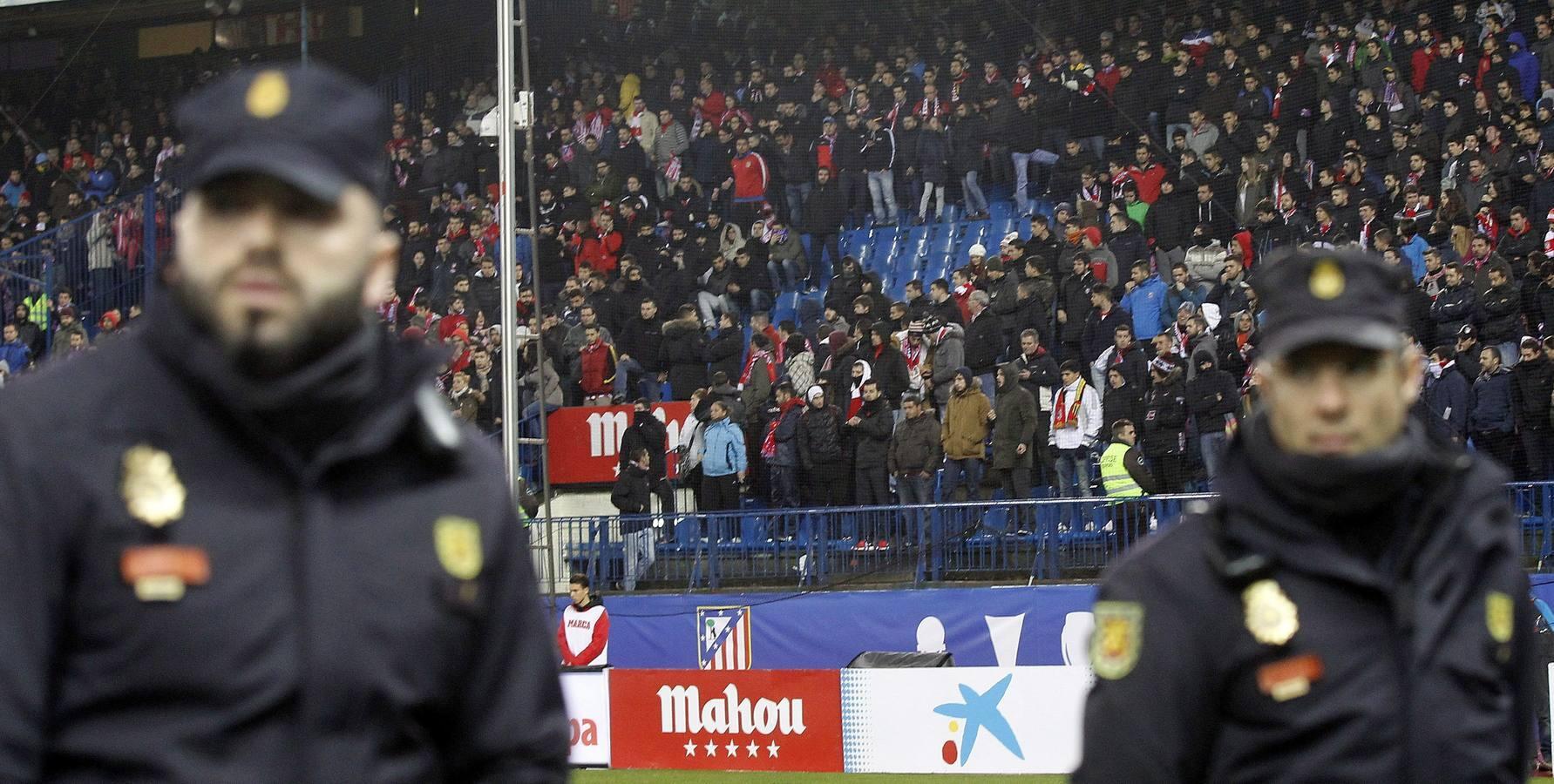 Las mejores imágenes del Atlético-Villarreal