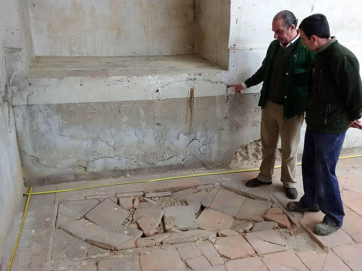 En las tripas de la cripta