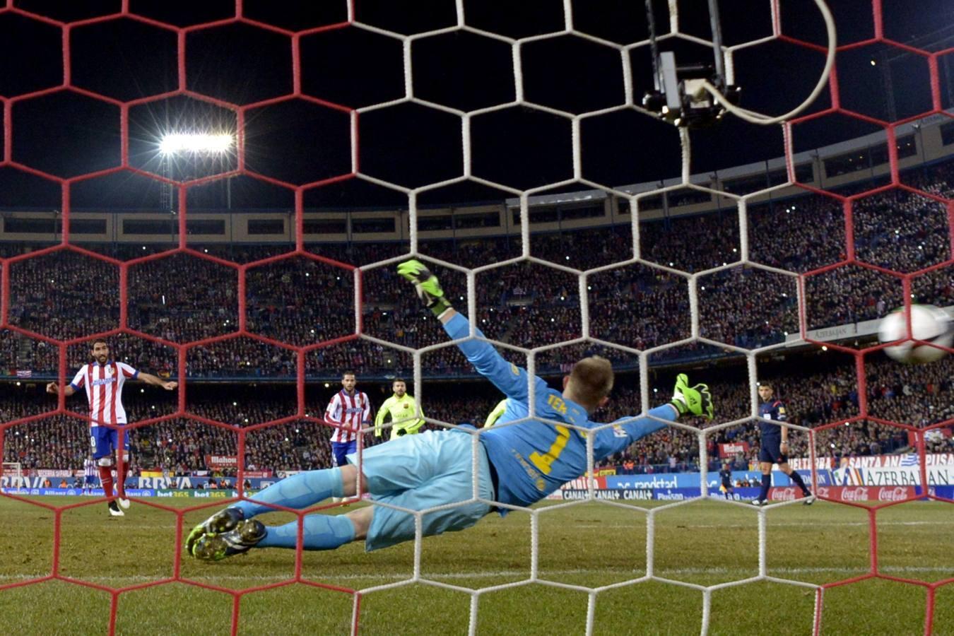 Las mejores imágenes del Atlético de Madrid-Barcelona