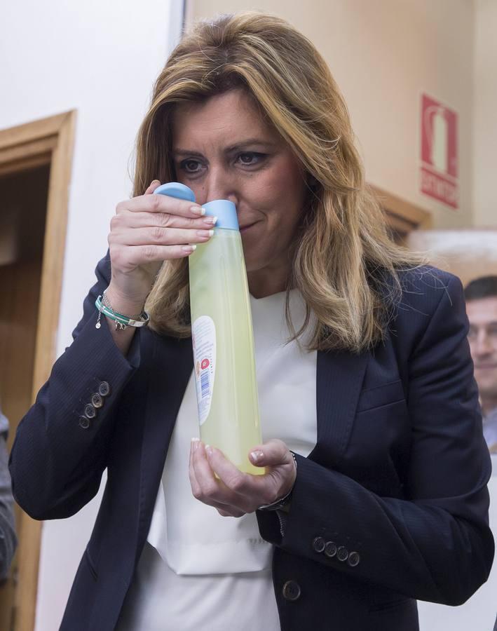 Las imágenes más maternales de Susana Díaz