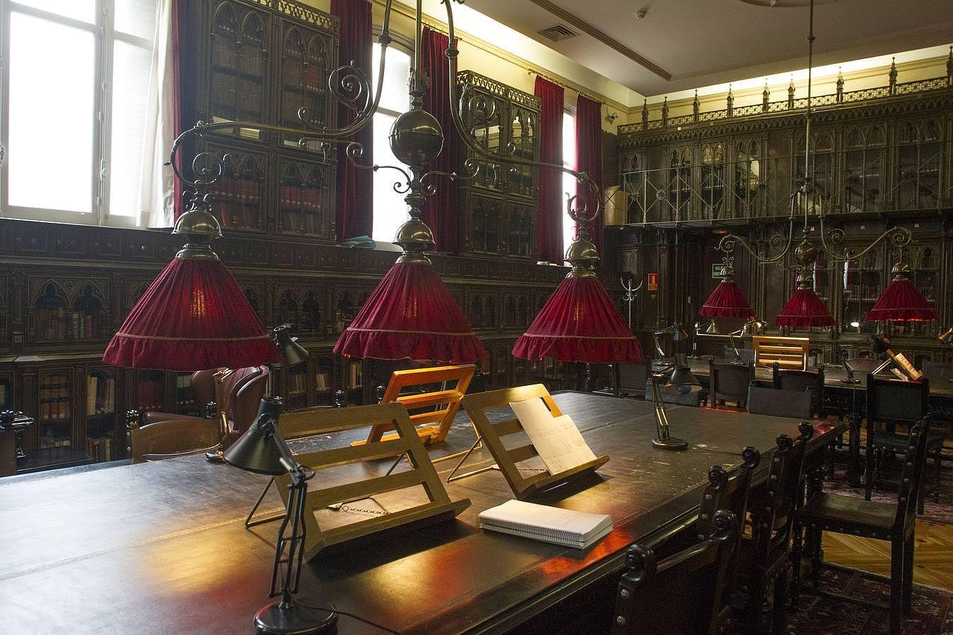 Viaje a la biblioteca, la sala de lectura y de tertulia del Casino de Madrid