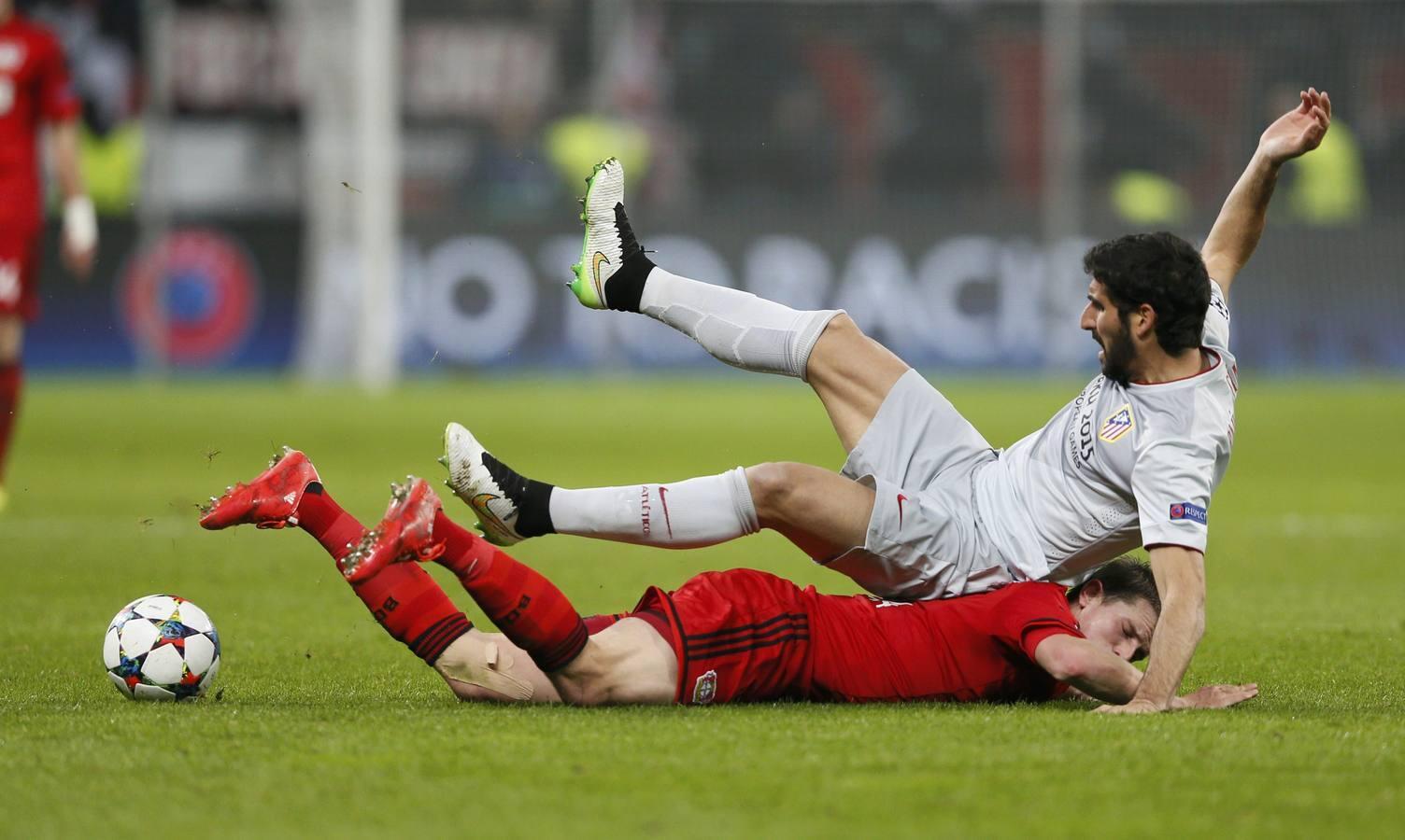 Las imágenes del Leverkusen-Atlético de Madrid