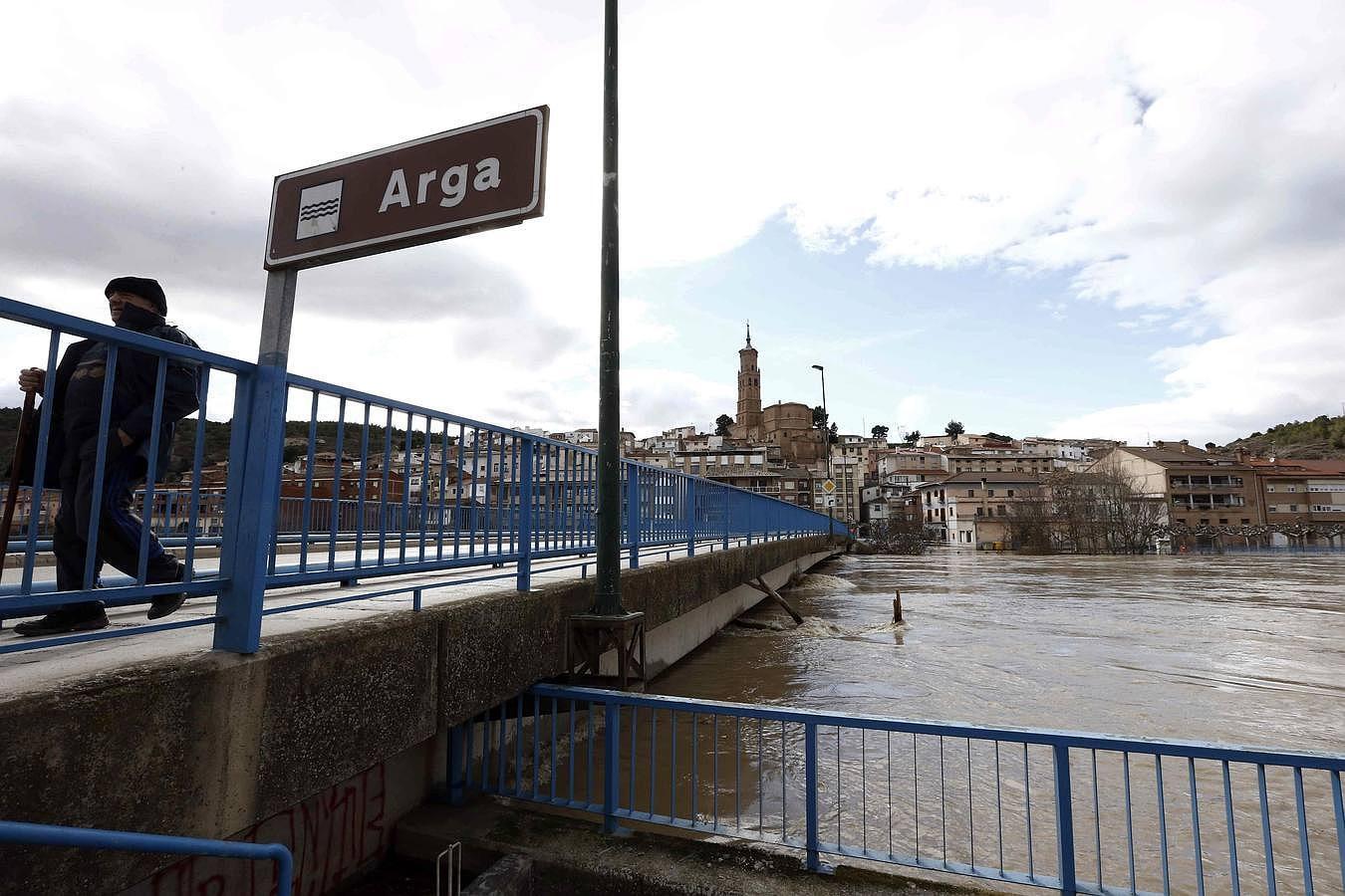 Inundaciones en Navarra, Aragón y País Vasco