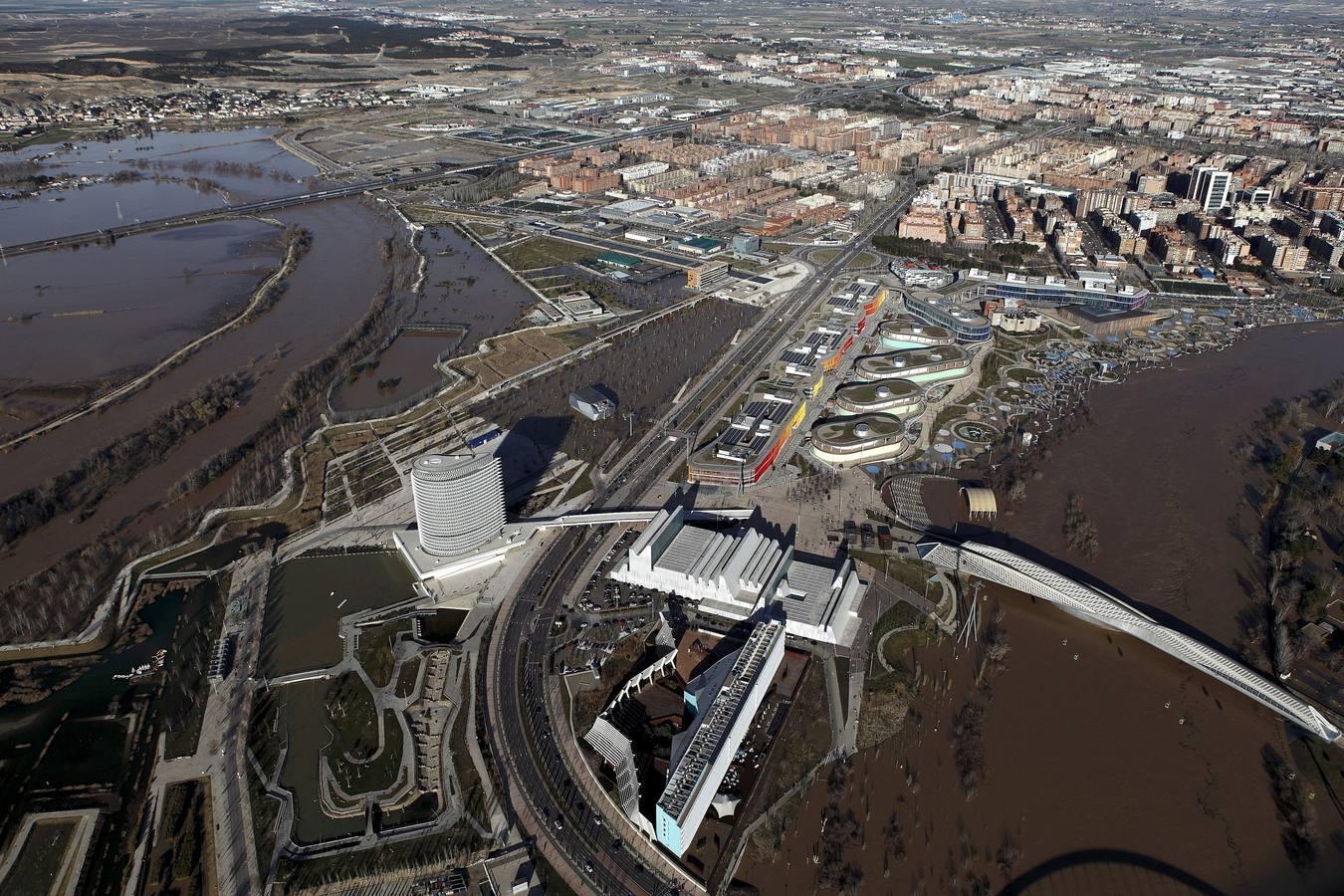 La semana más angustiosa en la ribera del Ebro del siglo XXI
