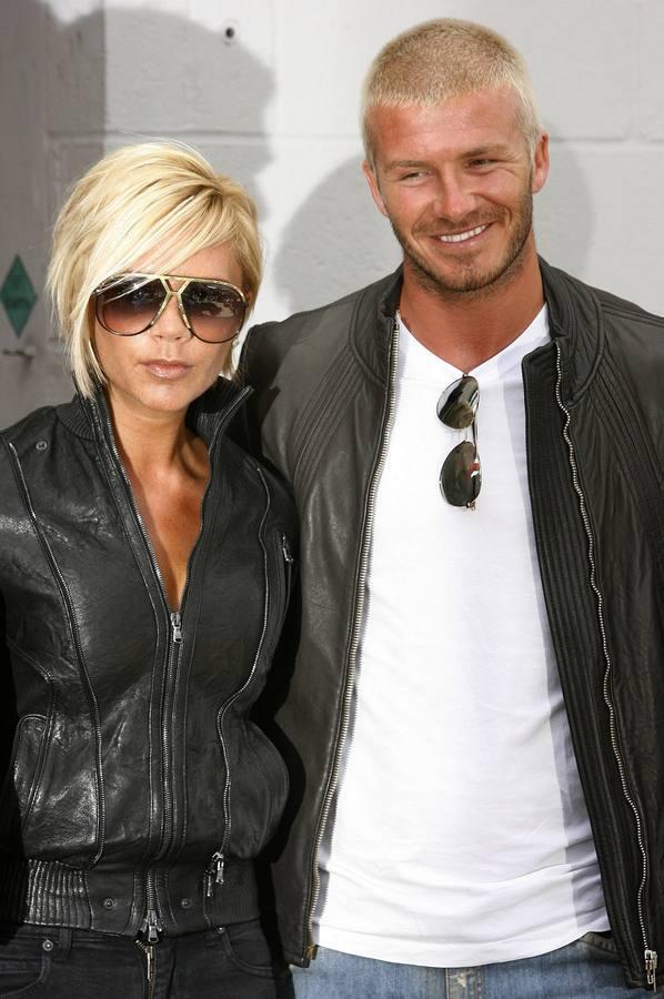 Del rubio platino a la barba hipster, los cambios de «look» de David Beckham