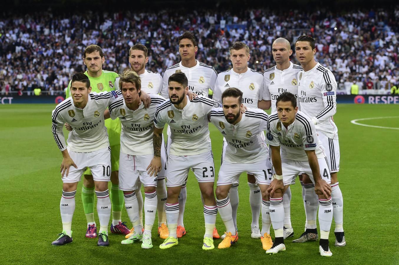 Las mejores imágenes del Real Madrid-Atlético