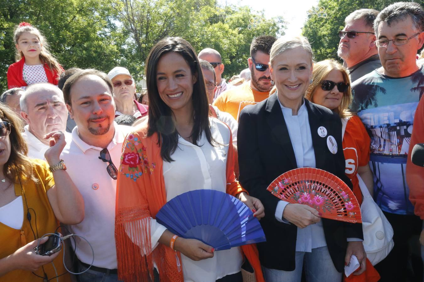 Madrid celebra su fiesta con un claro sabor electoral