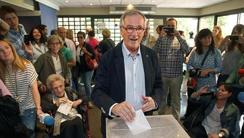 Así han votado los candidatos en Barcelona