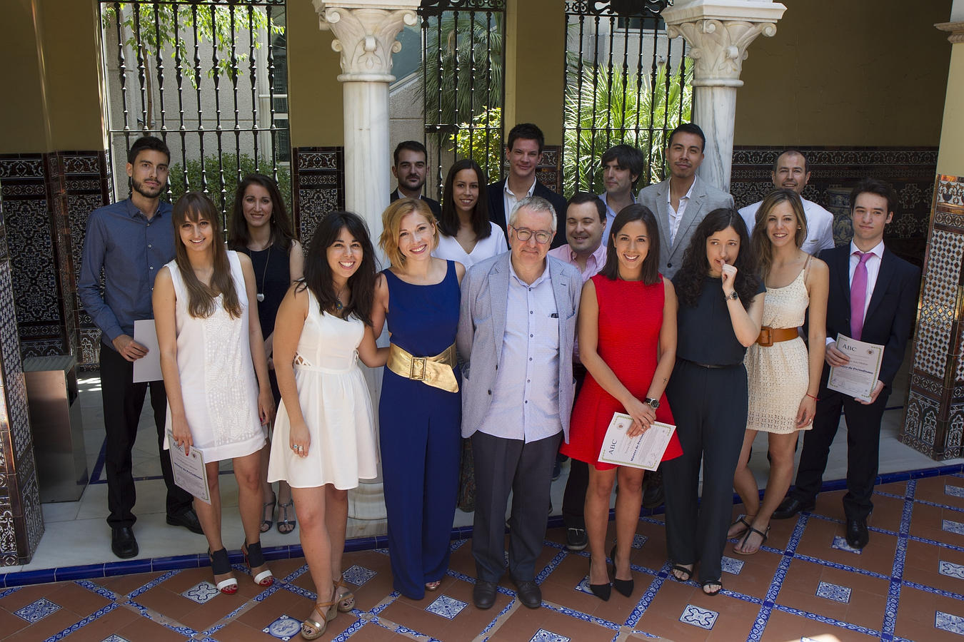 Acto de graduación de la XXVI Edición del Máster del Periodismo de ABC