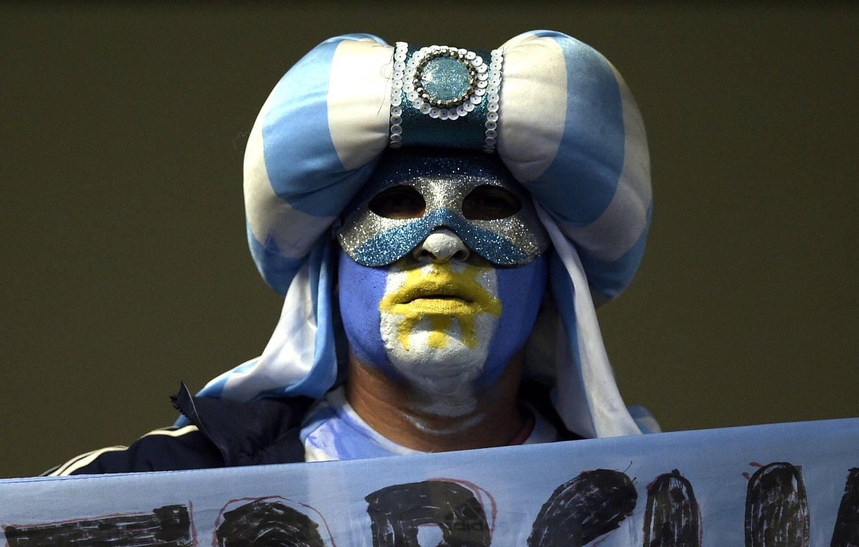 Fotogaléria: Las mejores imágenes del Argentina-Paraguay