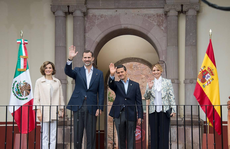 Último día de la visita de Estado de Los Reyes a México