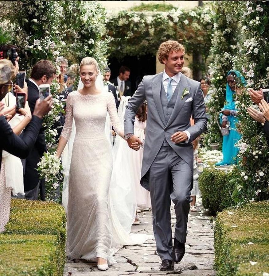 La boda de ensueño de Pierre Casiraghi y Beatrice Borromeo en la isla de San Giovanni