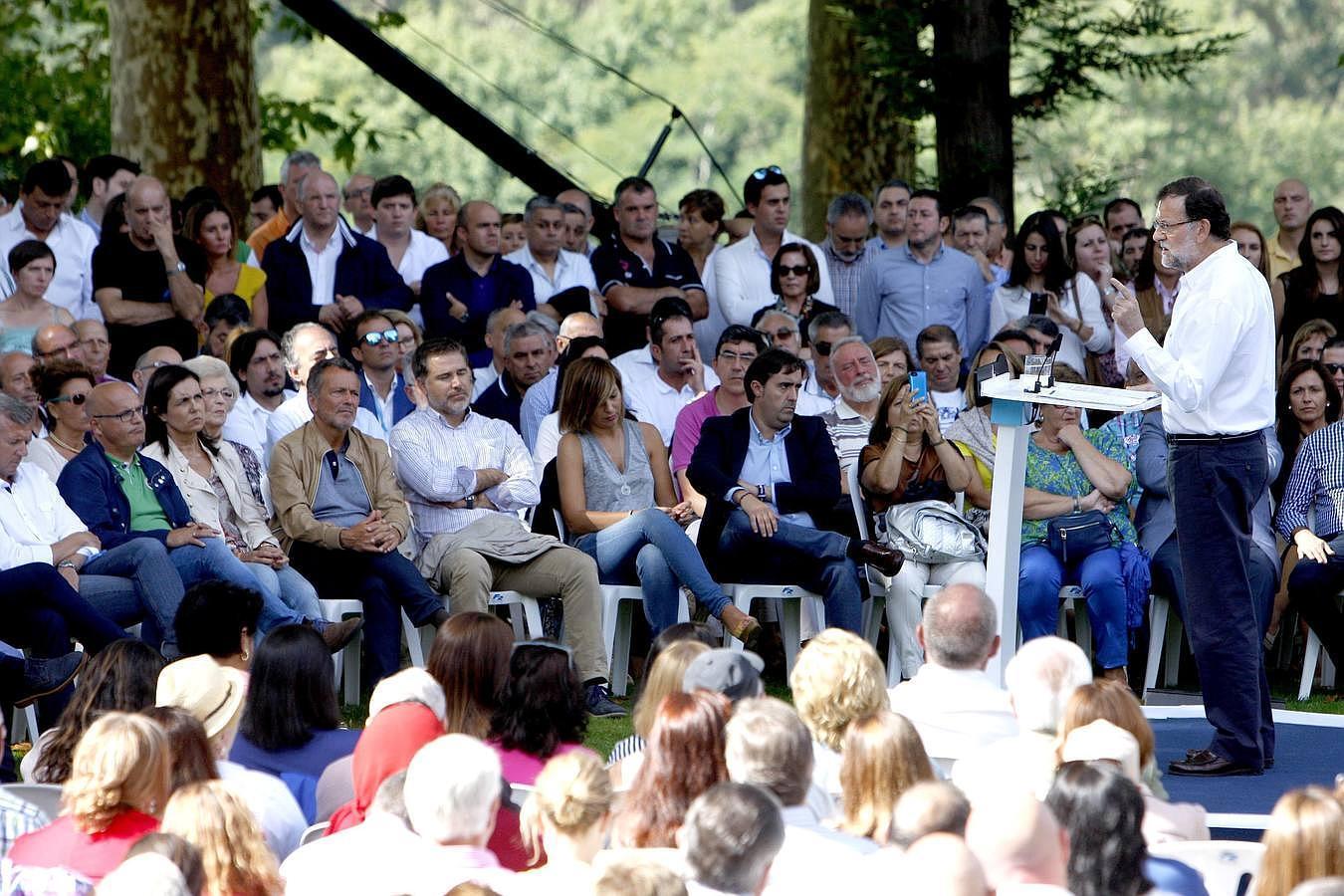 Rajoy abre el curso político en Soutomaior