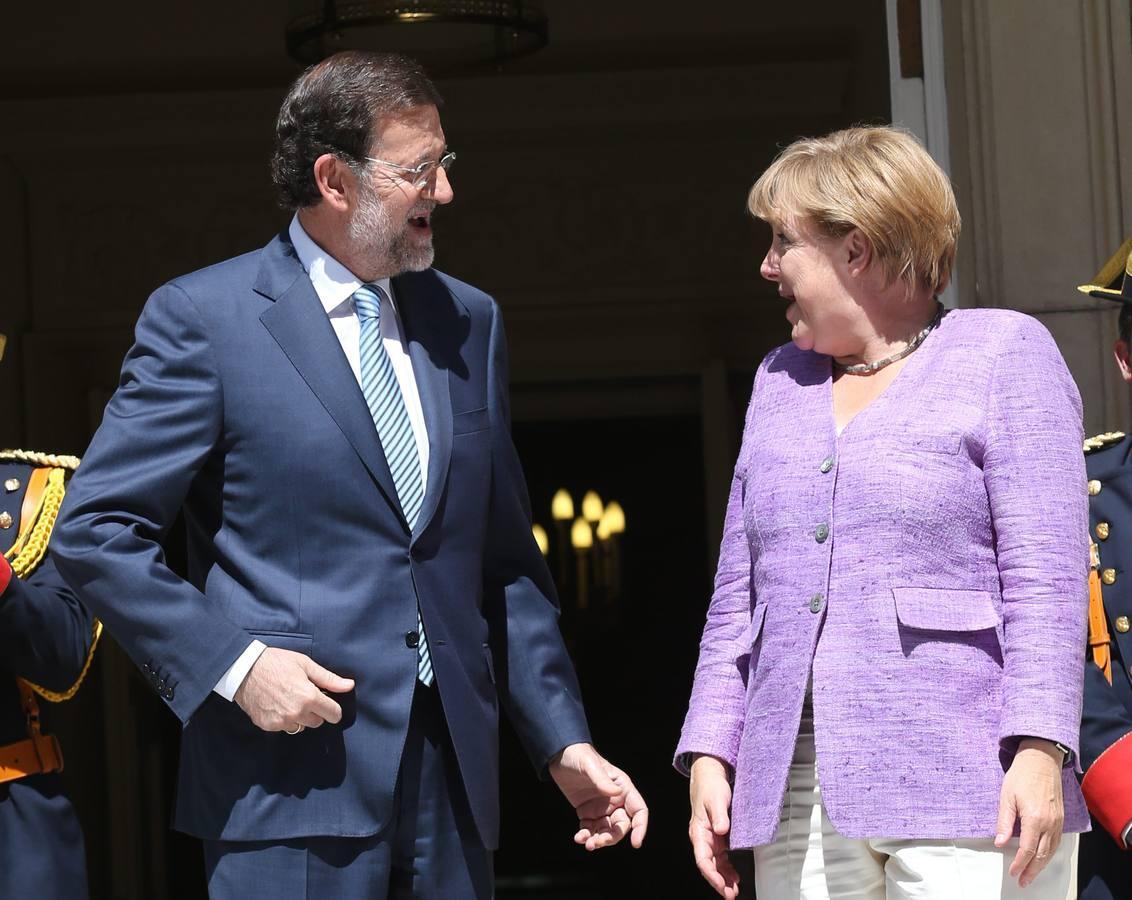Las otras cumbres bilaterales entre Mariano Rajoy y Angela Merkel