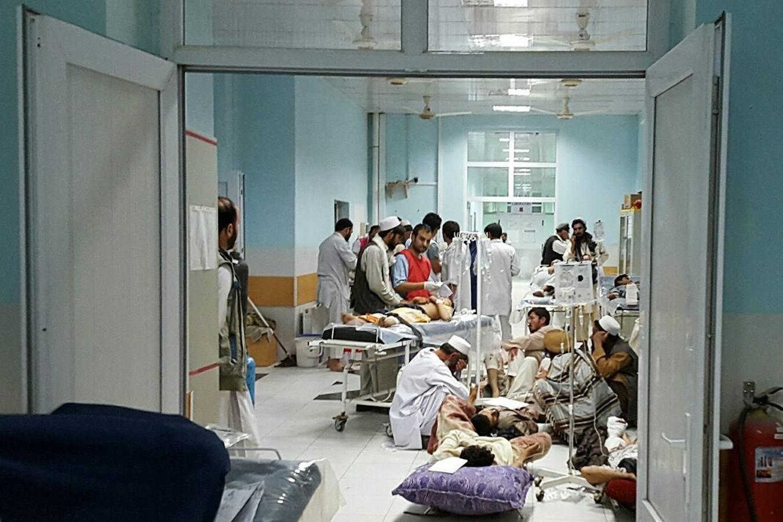 En imágenes: EE.UU. bombardea un hospital de MSF en Kunduz «porque se ocultaban» talibanes