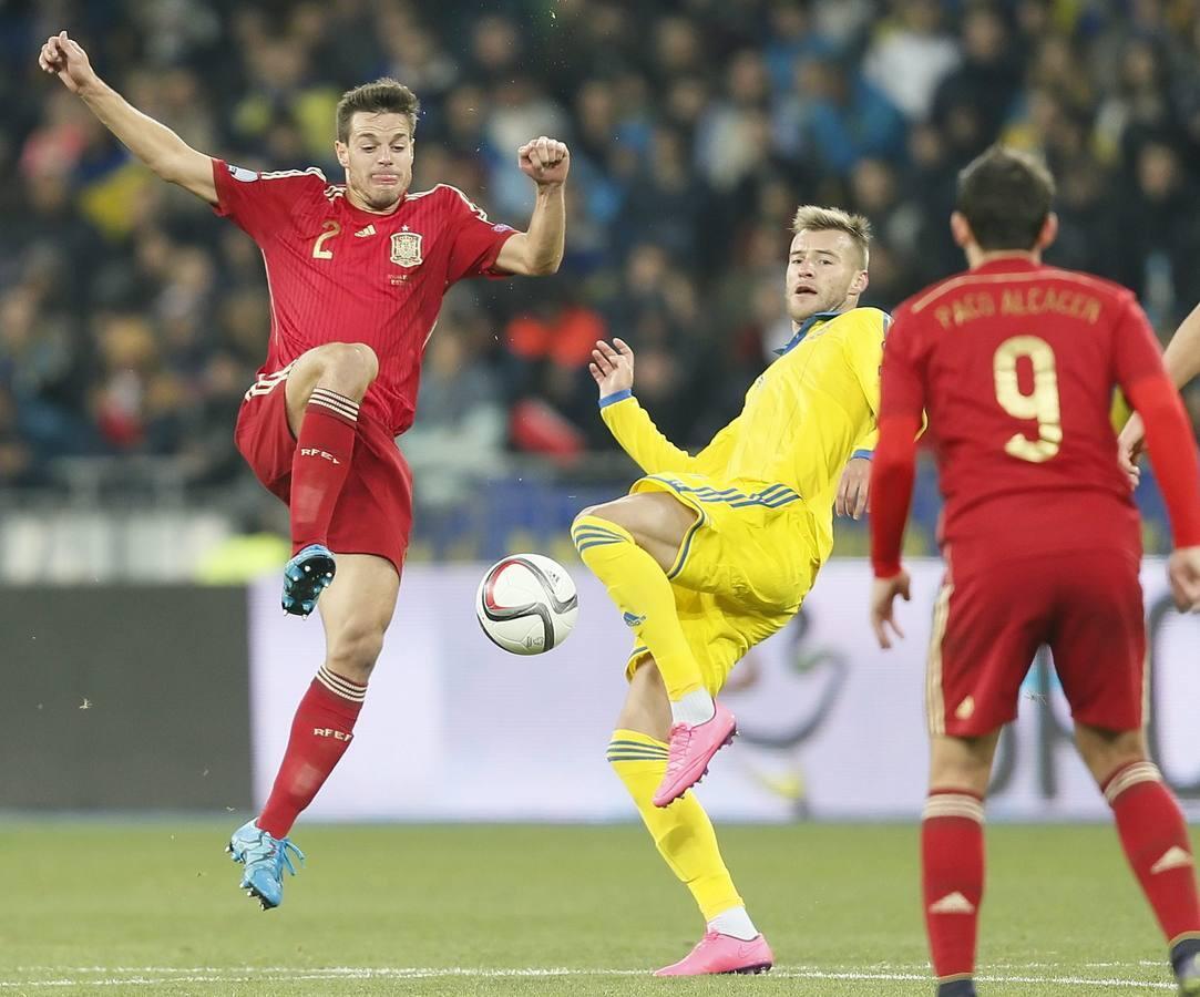 Clasificación Euro 2016: Ucrania-España