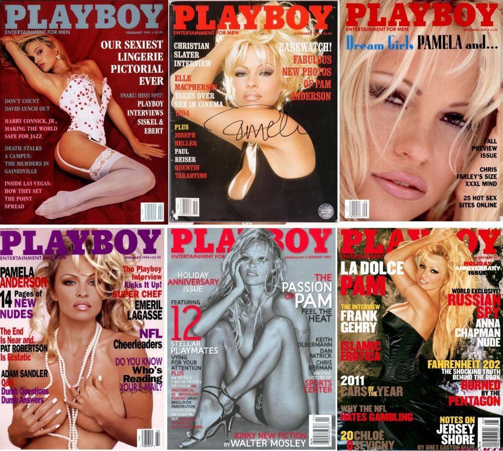 Las portadas más emblemáticas de la revista Playboy